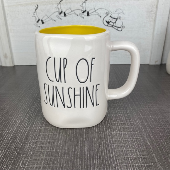 Rae Dunn Cup Of Sunshine mug. New.
